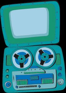magnetofono.
